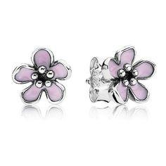 Pandora Cherry Blossom Stud Earrings