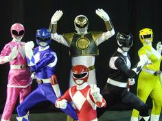 Mighty Morphin Power Rangers cosplay group by ~matt3335 on deviantART