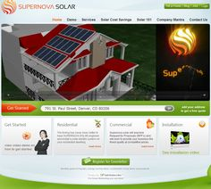 Supernova Solar, Website designed and built by Interactive Agency. Energy Use, Solar Energy, Solar Companies, Website Services, Free Quotes, Software Development, Sunny Days, Digital Marketing, Technology