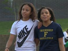 Sisters, separated for 17 years, find each other at high school track meet