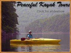 Kayaking Deep Creek Lake with All Earth Eco Tours