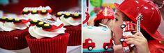 Fiesta de cumpleaños para pequeños bomberos