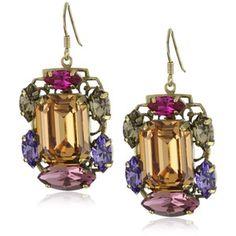 Art Deco Vintage Inspired earrings