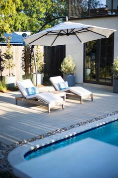 Landscape Gardening How Much Does It Cost Landscape Gardening Exeter Modern Landscape Design, Modern Landscaping, Pool Landscaping, Landscaping Software, Landscaping Design, Outdoor Rooms, Outdoor Living, Modern Pools, Above Ground Swimming Pools