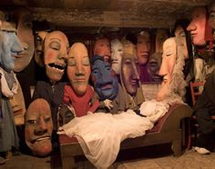 Bread & Puppet theatre, meet and take a master class from Giant puppet creator Catherine Hahn (a past Bread and Puppet creator) at The Fearless Face of Puppetry conference March 9-10, www.wppuppet.com