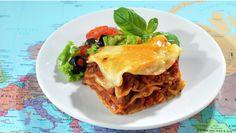 Denne blir ekstra god med hjemmelaget pasta og kjøttdeig New Menu, Frisk, Other Recipes, Food And Drink, Pasta, Dinner, Ethnic Recipes, Lasagna, Families