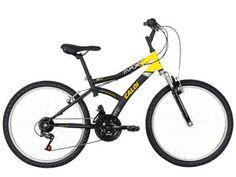 Bicicleta Caloi Max Front Aro 24 21 Marchas - Freio V-brake