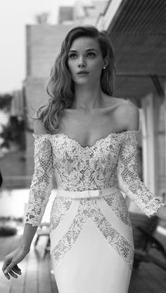 Lihi Hod 2015 Wedding Dresses — Film Noir in White Bridal Collection Wedding Dress Film, Amazing Wedding Dress, 2015 Wedding Dresses, Designer Wedding Dresses, Wedding Gowns, Bridal Collection, Dress Collection, The Bride, Mod Wedding