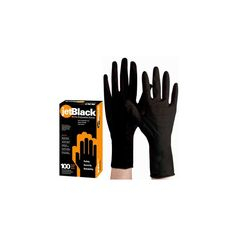 Product Club jetBlack Nitrile Disposable Gloves - 100ct