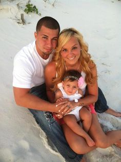 family beach pictures!  Picture from above, need to remember.