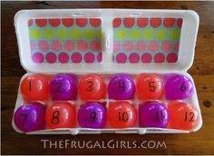 Easter Egg Craft {Easter Story countdown} at TheFrugalGirls.com #easter #egg #crafts