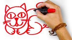 Красный Кот, рисуем маркером, РыбаКит