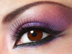 rosa e viola per uno sguardo aperto e fresco