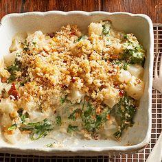 You can make our Turnips, Greens, and Pearl Onion Gratin a day early! Find the full recipe here: http://www.bhg.com/recipes/quick-easy/make-ahead-meals/side-dish-casseroles/?socsrc=bhgpin092814oniongratin&page=3