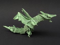 FIERY DRAGON Origami
