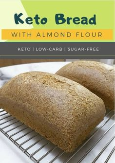 Keto Low Carb Bread Diet Plus 4 U - Keto fat bombs Best Low Carb Bread, No Bread Diet, Keto Bread, Bread Baking, Low Carb Recipes, Vegan Recipes, Bread Recipes, Easy Recipes, Flourless Chocolate