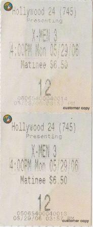 X-Men 3 (5/29/2006)