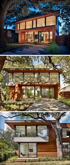 A New Family Home Sits Comfortably In The Hills Of Austin, Texas | Matthews Residence By Matt Garcia Design
