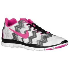new arrival e7861 291ed Nike Free TR Fit 3 Print - Women s - Black Summit White Atomic Pink