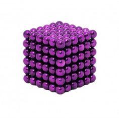 Neocube Magneetballetjes Paars (216 balletjes)