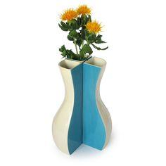 SILHOUETTE VASE | ceramic vase, white, flower vase | UncommonGoods