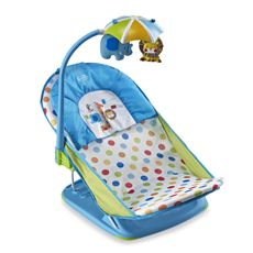 The Summer Infant Deluxe Baby Bather - Blue - buybuy BABY