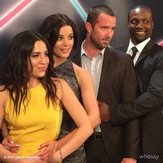 #TBT to this awesomely awkward cast photo lol #BLINDSPOT #NBC @BrocoliRobBrown @NBCBlindspot