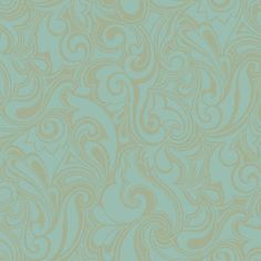 Jubilee Wallpaper in Pale Blue and Gold design by York Wallcoverings ($52) ❤ liked on Polyvore featuring home, home decor, wallpaper, wallpaper samples, pattern wallpaper, gold home decor, gold pattern wallpaper, gold wallpaper and light blue home decor