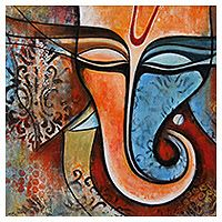 Ganesha 12 Ganesha Painting, Lord Ganesha, Indian Art, God, Artist, Indian Artwork, Dios, Indian Paintings, Artists