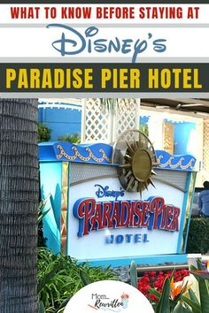 Disney's Paradise Pier Hotel is one of three on-site Disneyland Resort Hotels in California. Get all the pros and cons, including location, rooms, view, dining options and a special evening perk. Is the Paradise Pier hotel good for families and is it worth the extra cost when compared to other Anaheim area locations? #Disneyland #Disney #DisneyResort #DisneyHotel #ParadisePier #HotelReview