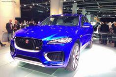 Франкфуртский автосалон 2015: Jaguar представил первый в истории марки кроссовер