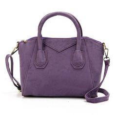 Women Stylish Dull Polish Shell Handbag Shoulder Bag