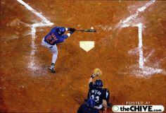 Perfect Timing #baseball #homeplate #swing