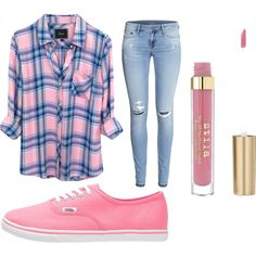 Untitled #39 by mayizquierdo13 on Polyvore featuring polyvore fashion style Rails H&M Vans