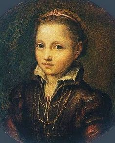 Lucia Anguissola (1532-1625) Portrait of Europa Anguissola...Painting clearly ran in the family!