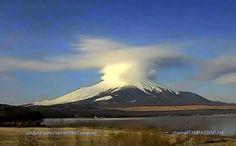 Какие виды НЛО бывают Лентикулярное облако Фудзи UFO cloud