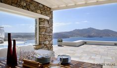 Mykonos Villa Rental: Secluded Luxury Villa With Infinity Pool And Spectacular Pergola Views . Luxury Villas In Greece, Mykonos Villas, Vacation Villas, Dream Vacations, Pergola Pictures, Luxury Villa Rentals, Luxury Holidays, Pergola Designs, Luxury Homes