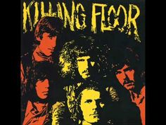 """▶ Killing Floor (English Blues Band) - """"Keep On Walking"""" [The principal players in the South London-based band Killing Floor originally met while playing in a blues band called the Loop. During the British blues boom of 1968-1969, lguitarist Mick Clarke, vocalist/harmonica Bill Thorndycraft decided to form a """"straight blues"""" group. Joining them were piano player Lou Martin, bassist Stuart MacDonald, and drummer Bazz Smith.] ~ Great blues `j"""