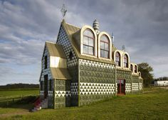 Grayson Perry and FAT reveal the elaborate interiors of their House for Essex.