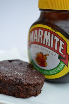Chocolate Marmite Brownies