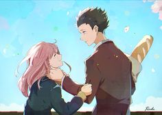 Anime Koe No Katachi  Shouko Nishimiya Shouya Ishida Wallpaper