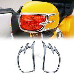 For Honda GL1800 GOLDWING Turn Signal Lights Decoration Chrome 2001-2011 #Affiliate