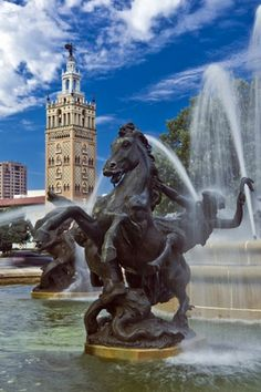 Kansas City, Missouri -- The city of fountains