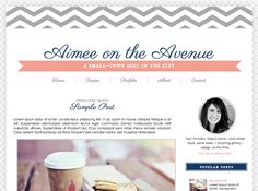 Designer Blogs imbued | blog design |kristin | web design inspiration