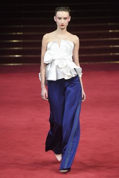 The complete Alexis Mabille Spring 2018 Couture fashion show now on Vogue Runway.
