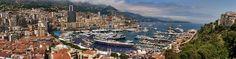 Monaco Panorama Photograph  - Monaco Panorama Fine Art Print