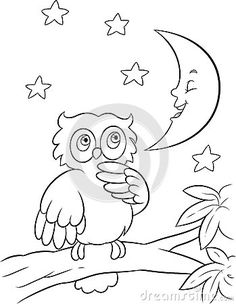 Baby Owl Cartoon Coloring Pages Diy Coloring Books, Lego Coloring Pages, Detailed Coloring Pages, Animal Coloring Pages, Free Coloring, Coloring Pages For Kids, Peacock Coloring Pages, Mandala Coloring Pages, Preschool Colors