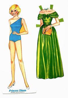 Bonecas de Papel: Princesa Diana                                                                                                                                                                                 More