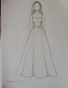 Fashion design sketches 797559415249110676 - Dress Drawing Sketches Beautiful Source by Dress Design Drawing, Dress Design Sketches, Fashion Design Sketchbook, Girl Drawing Sketches, Art Drawings Sketches Simple, Fashion Design Drawings, Pencil Art Drawings, Fashion Sketches, Drawing Ideas