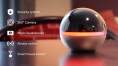 Branto un dispositivo domÇstico inteligente con c†mara de 360 grados